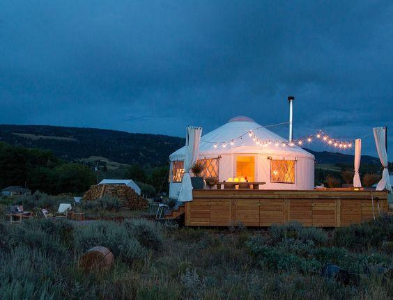 Atypisch huis Yurt