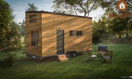 Wie installiere ich ein Tiny House auf einem Grundstück?