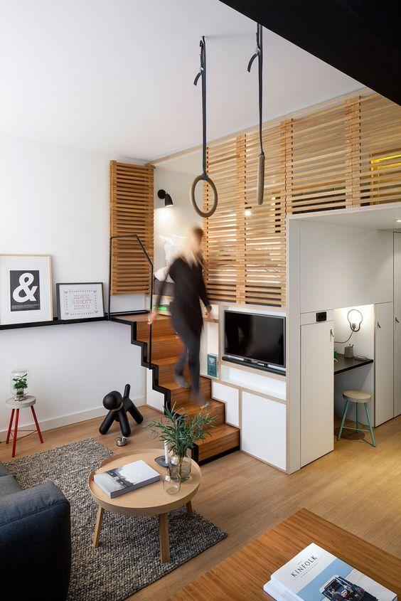 Techniques de bases pour gagner quelques m² dans votre tinyhouse