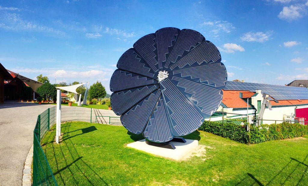 Baum-Photovoltaik-Paneele - SmartFlower