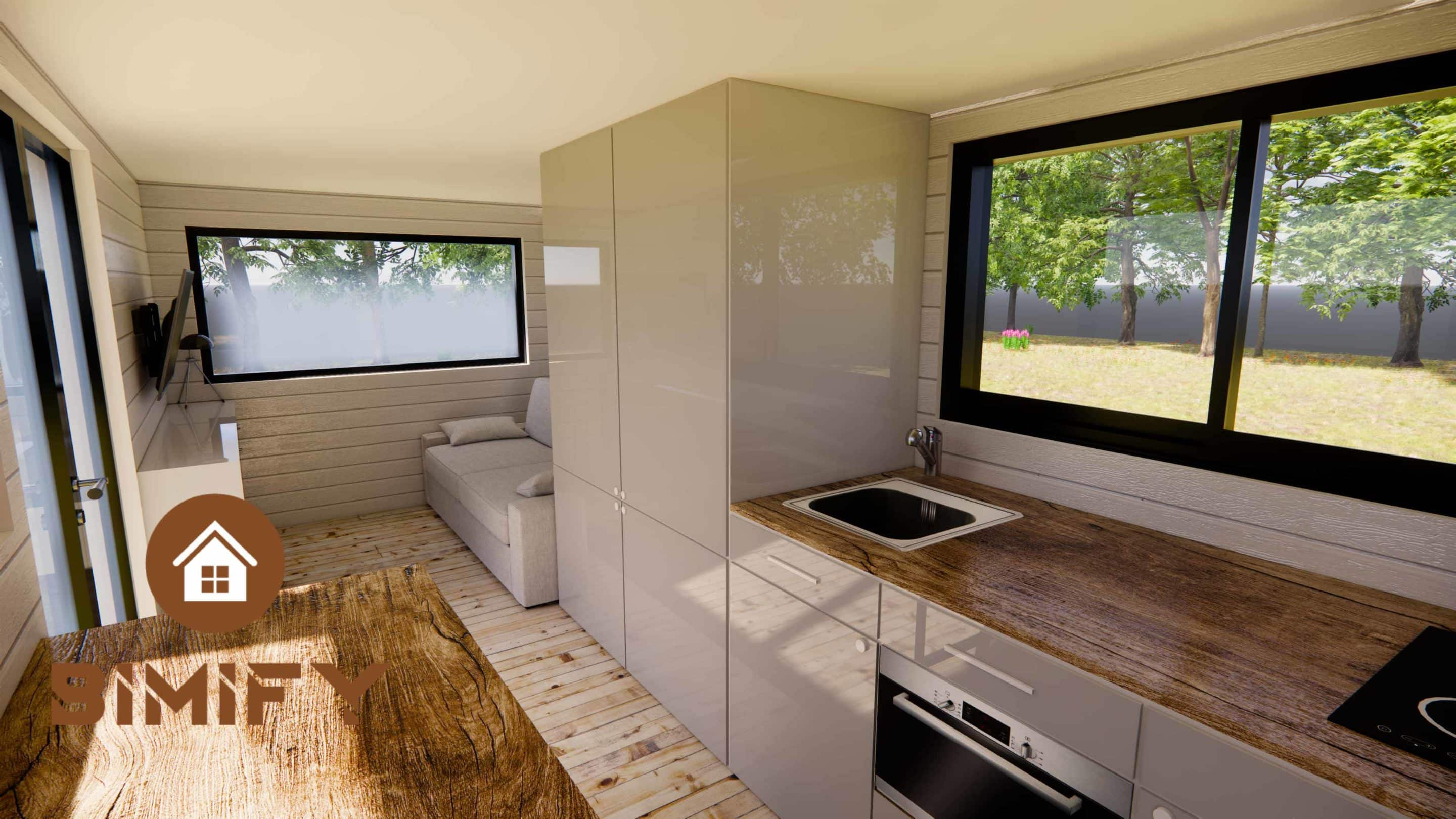 tiny house low cost interior