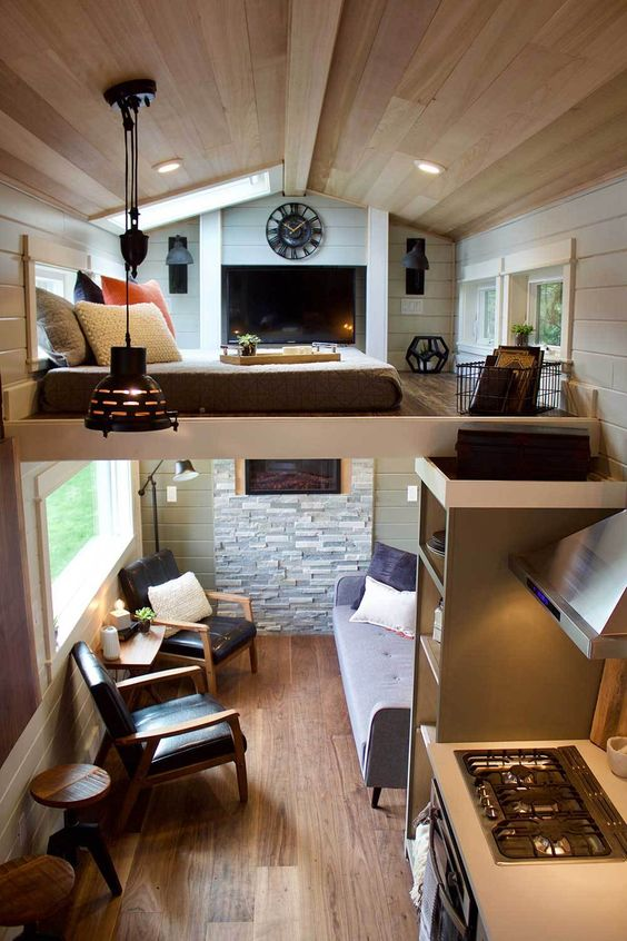Tiny House comfort and aesthetics