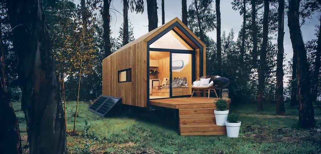 Budget di Tiny House padroneggiato