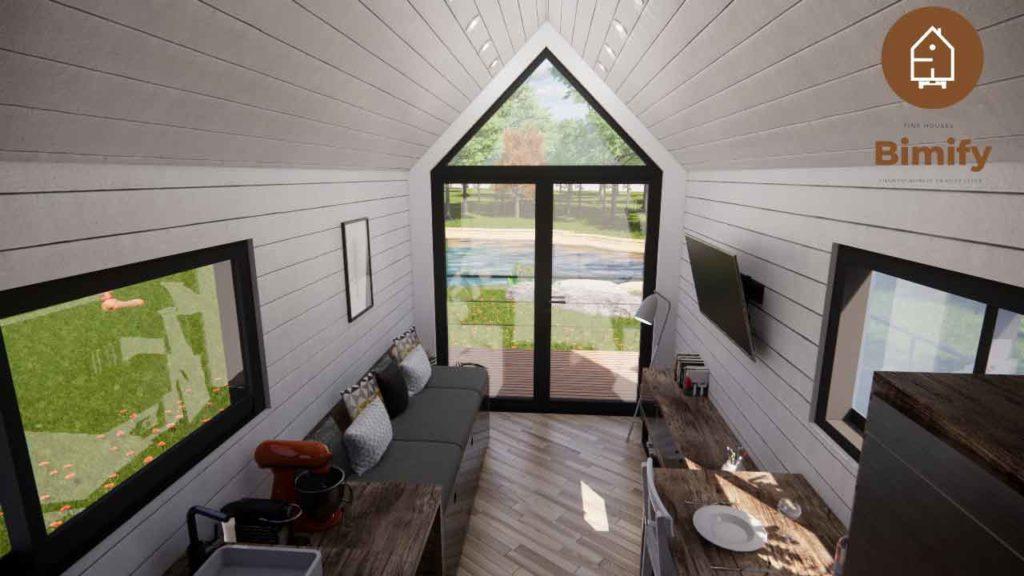 tiny house sédentaire