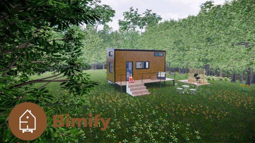 Tiny Cosy Tiny house moderne double mezzanine 4 a 6 personnes 1 1
