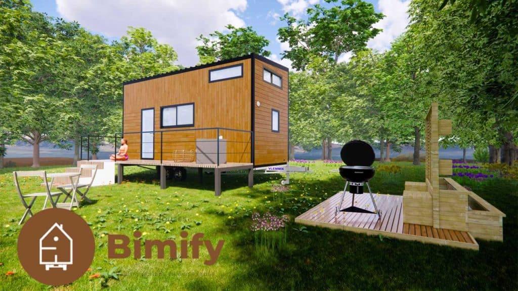 Tiny house moderne