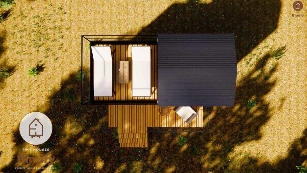 Tiny house pour 2 personnes