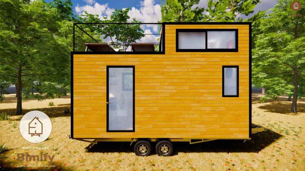 Toit terrasse pour tiny house