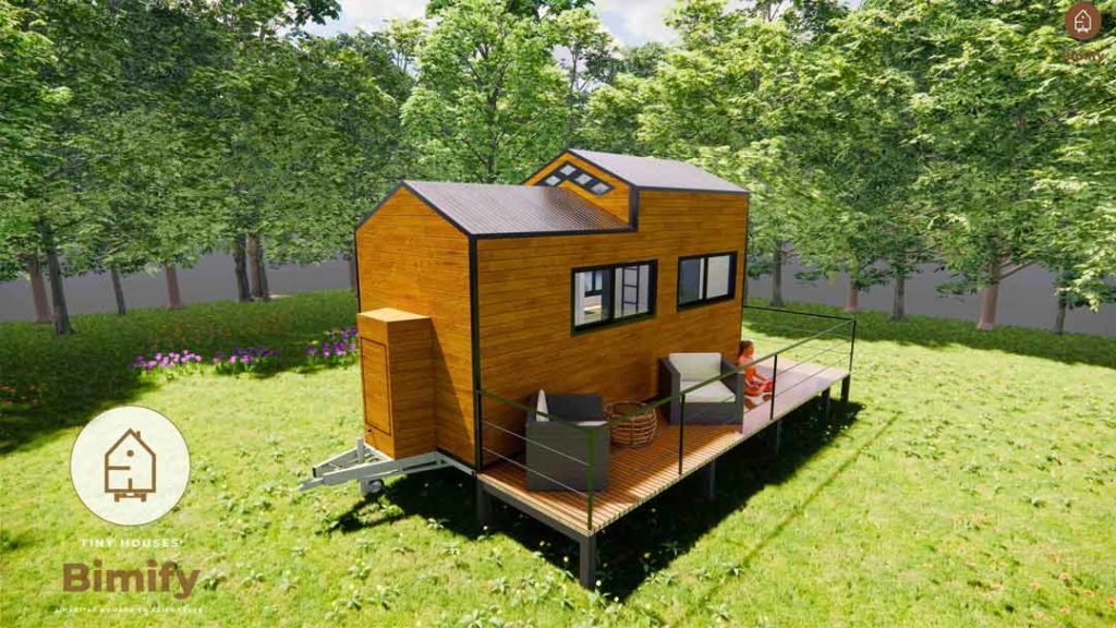 tiny house en kit prix