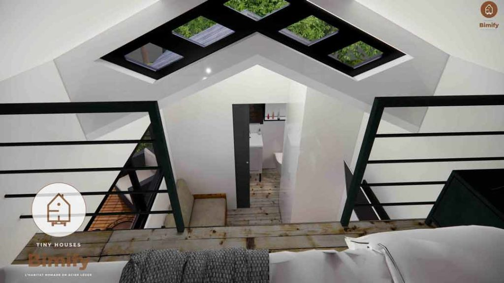 tiny house interieur luxe