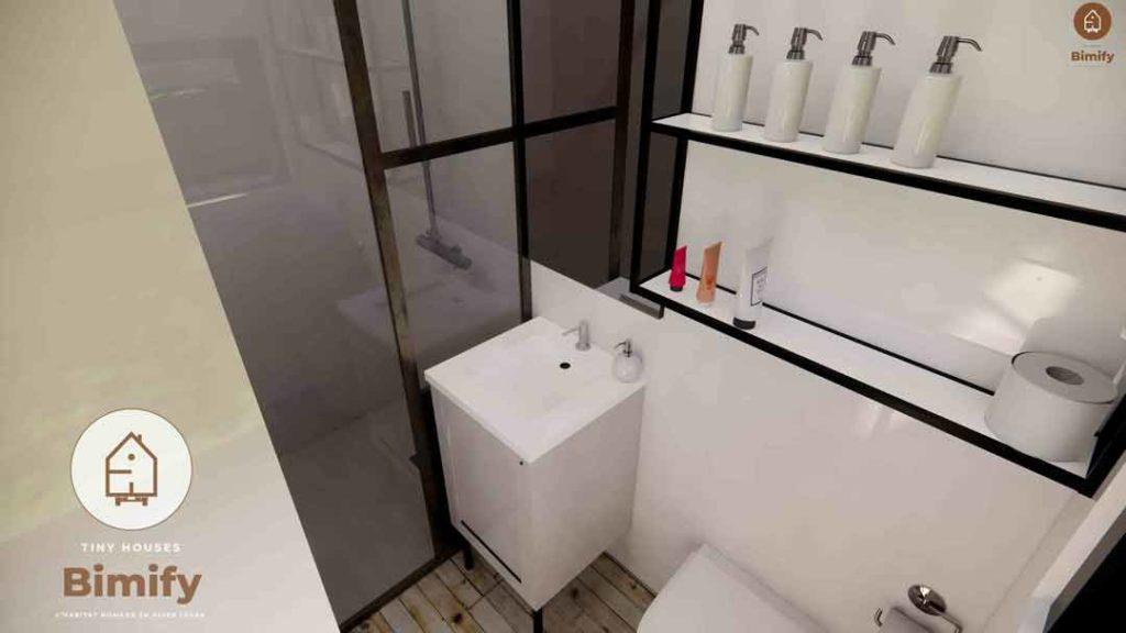 tiny house interieur salle de bain