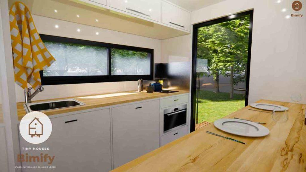 tiny house caravane