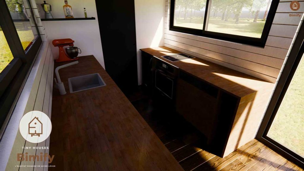 tiny house grande taille