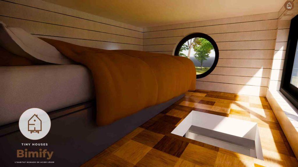 tiny house mezzanine enfant