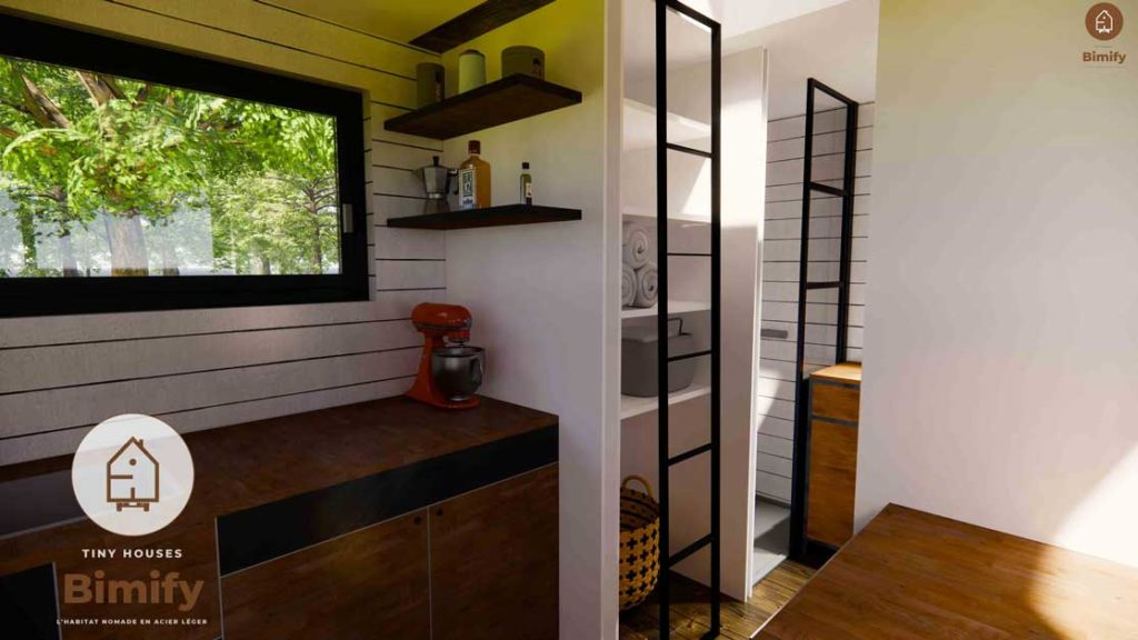 tiny house rangement