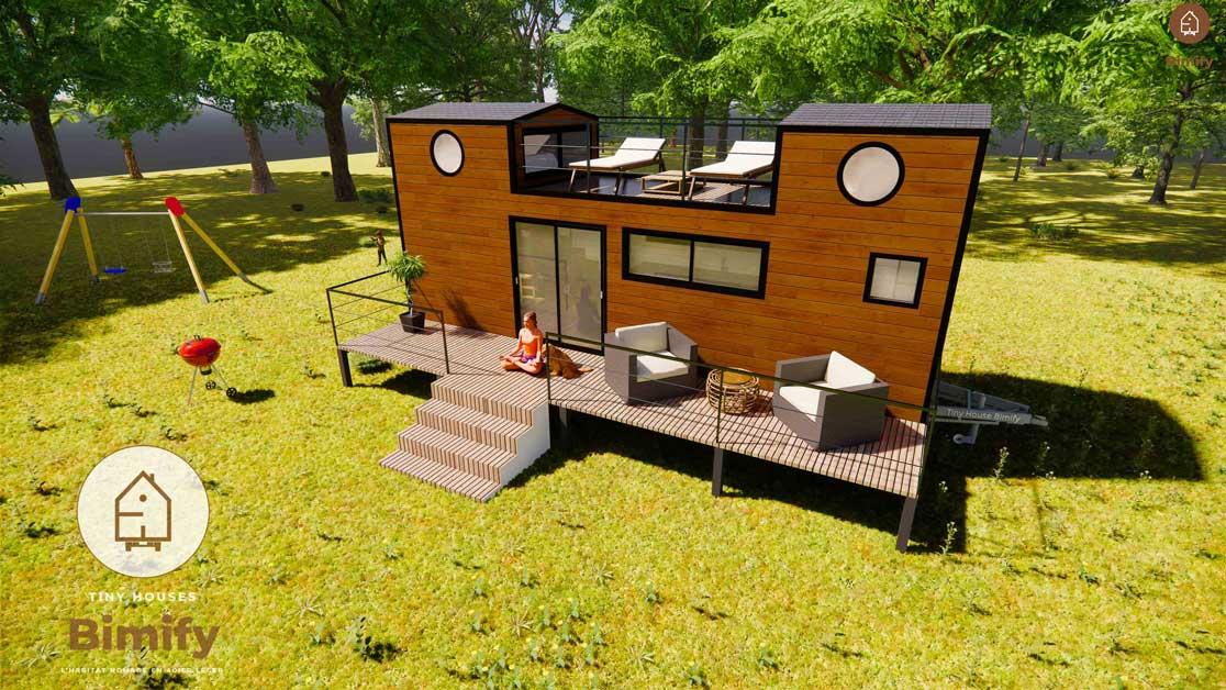 Tiny house 6 personas