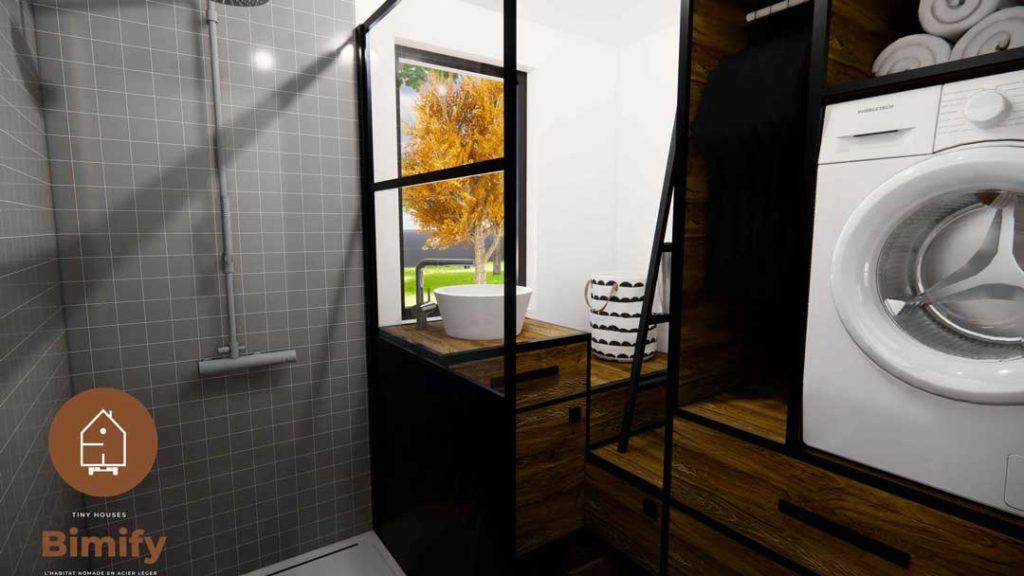 tiny house intérieur moderne