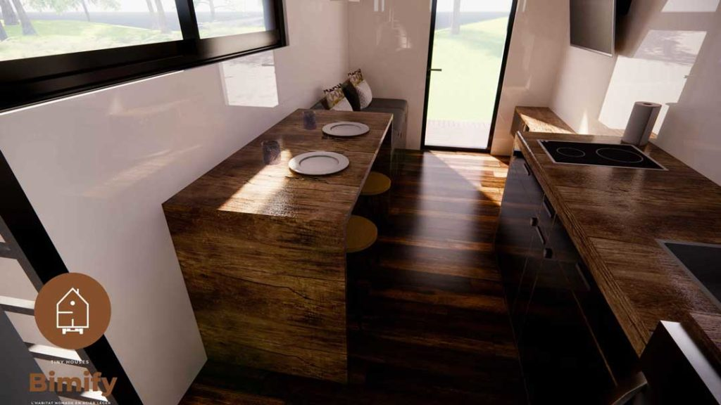 Conception agencement tiny house
