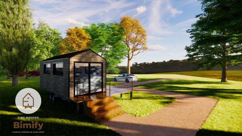 bureau partagé lyon dans une tiny house