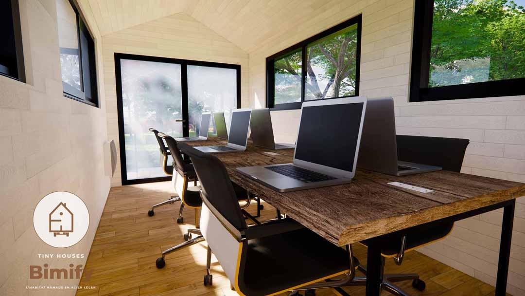 Tiny house 2 chambres pour 4 à 6 personnes