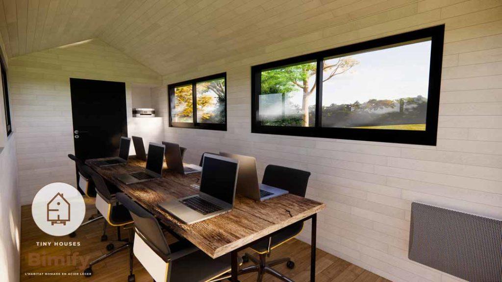 Tiny Coworking : Tiny house bureau