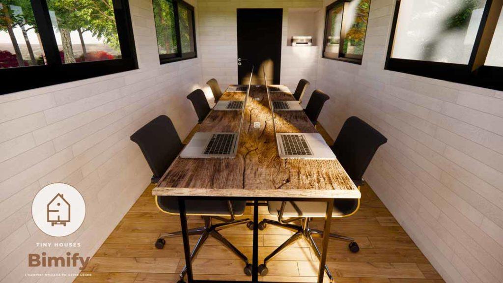 Tiny Coworking tiny house bureau partagé nomade (7)