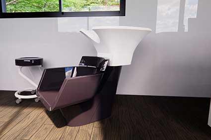 Mobiliário de cabeleireiro personalizado