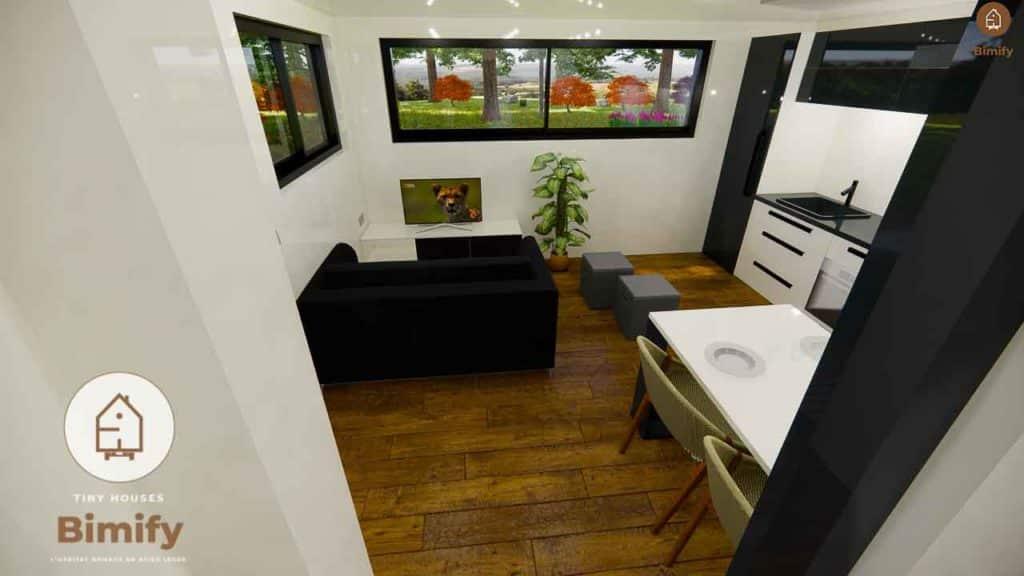 studio de jardin habitable 30m2
