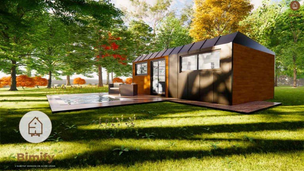 studio de jardin habitable clef en main